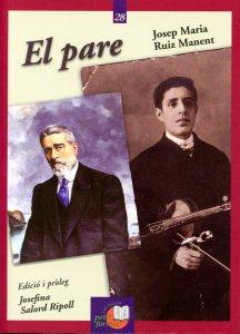 """l'Institut Menorquí d'Estudis acaba de publicar, en la col·lecció Petit Format, """"El pare"""", la novel·la en què Josep M. Ruiz Manent (Ciutadella, 1892 – Madrid, 1951) ret homenatge al seu pare i evoca els anys de l'adolescència viscuda a Ciutadella a principis del segle XX."""